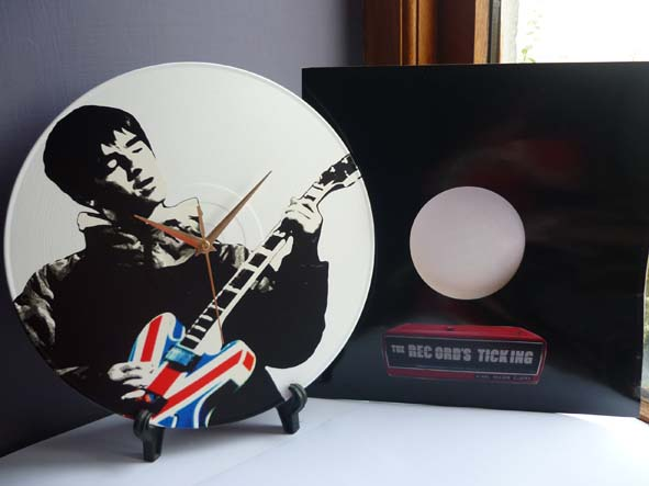 Noel Gallagher - Union Jack Epiphone Guitar