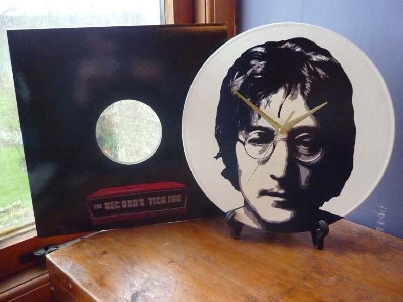 The Beatles Collection 12 Lp Vinyl Record Wall Clocks