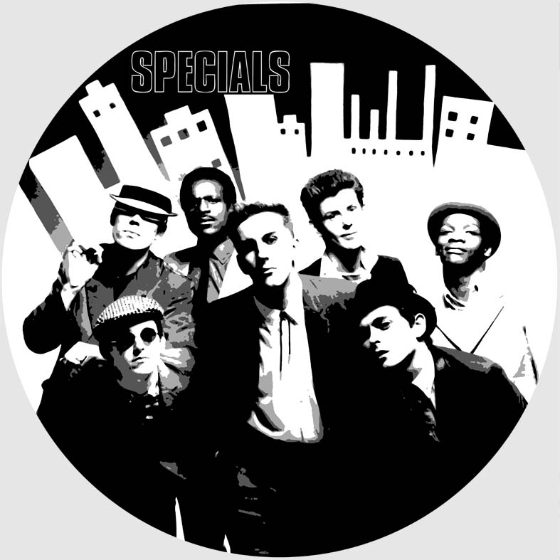The Specials Collection 12 Lp Vinyl Record Wall Clocks