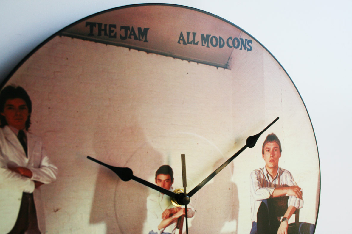 The Jam Collection 12 Lp Vinyl Record Wall Clocks The