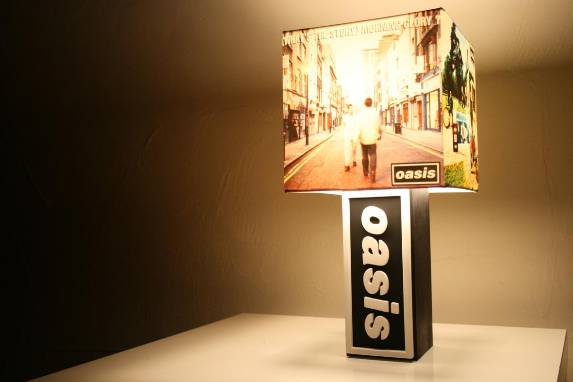 Handmade Oasis Lamp Slane Castle Shade The Records Ticking