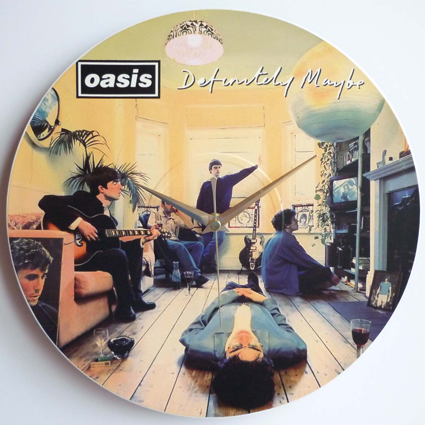 The Oasis Collection – 12″ LP Vinyl Record Wall Clocks | The Records ...