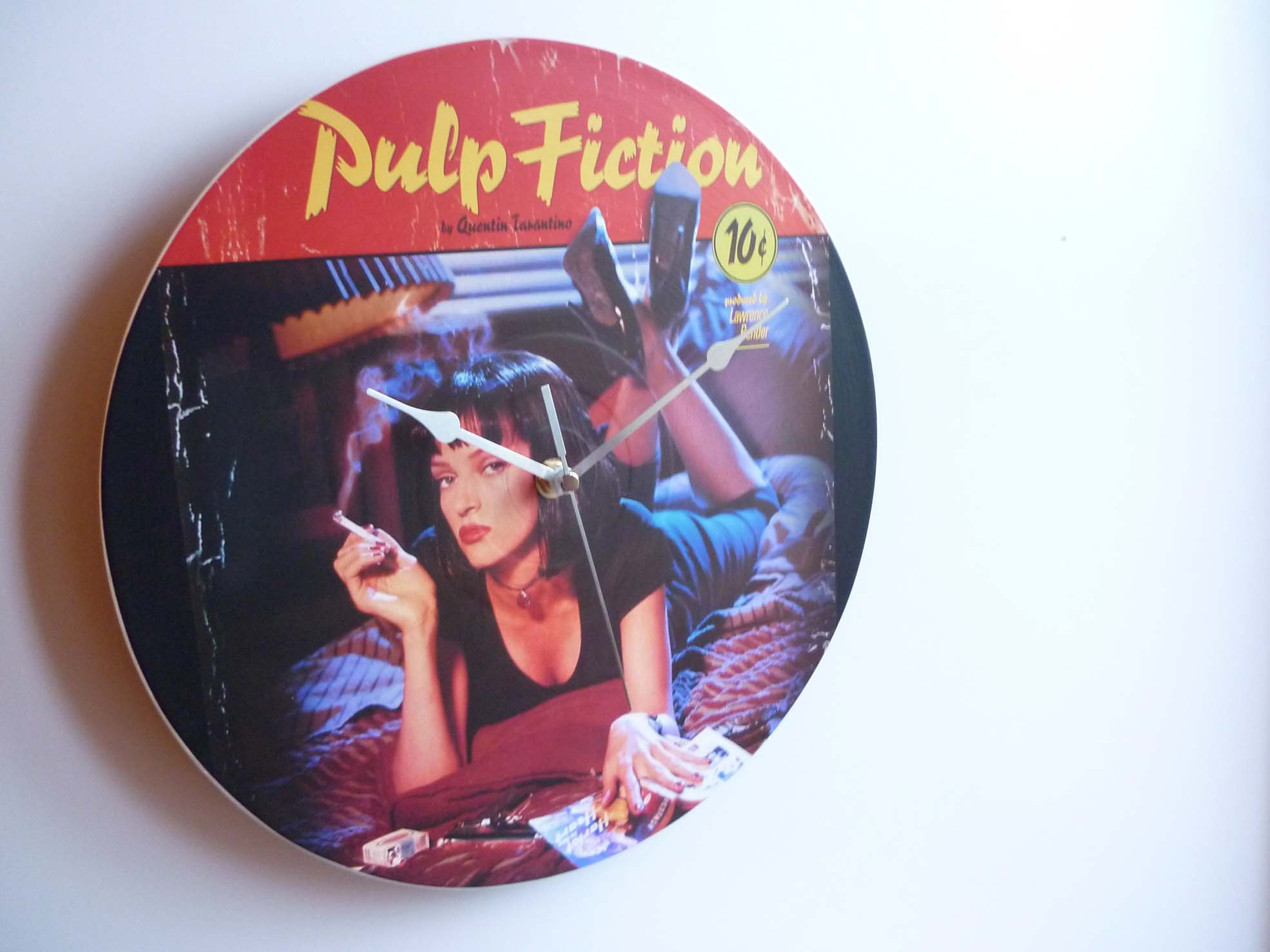 Pulp Fiction Collection 1994 12 Vinyl Record Wall