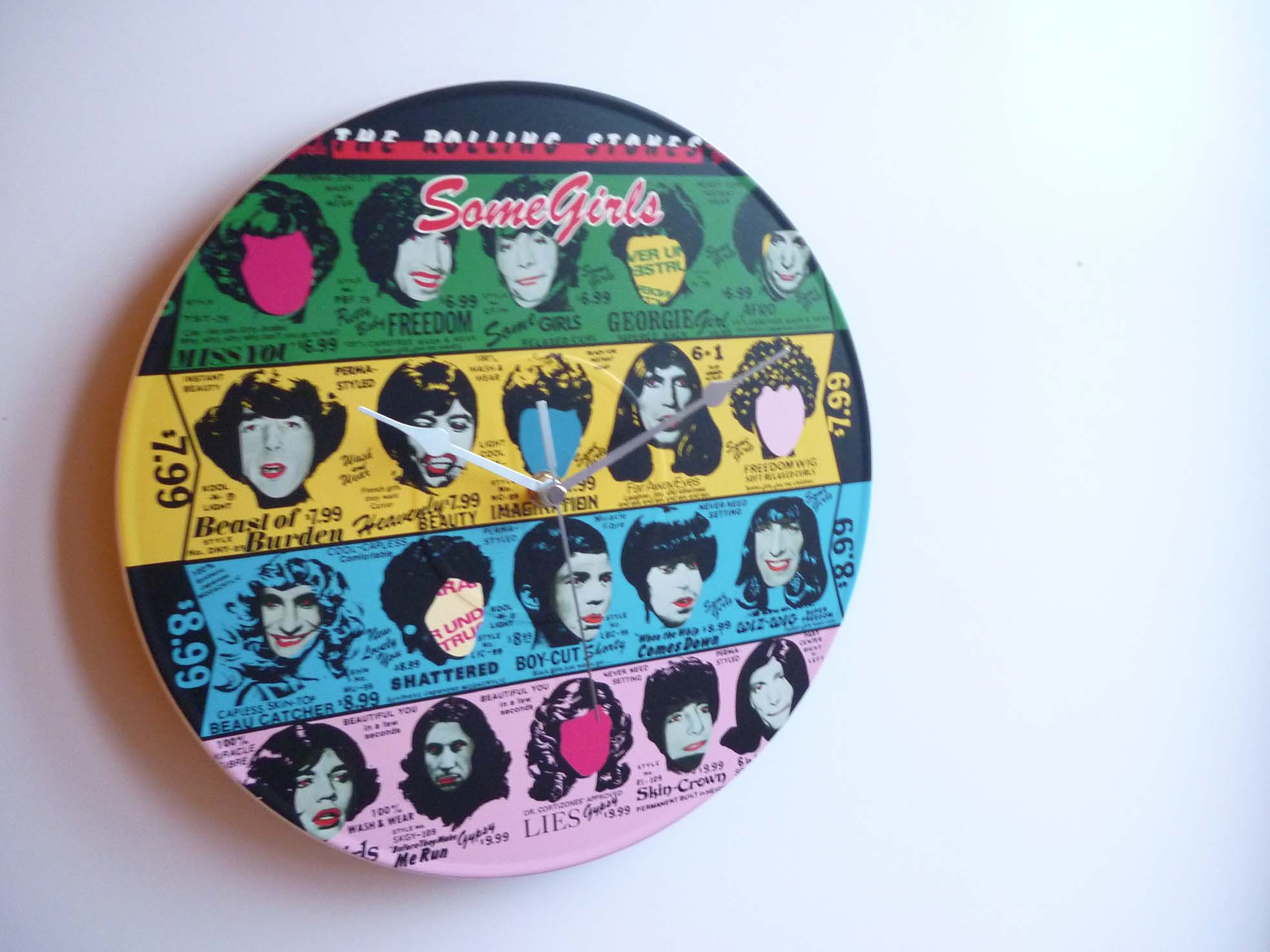 The Rolling Stones Collection 12 Lp Vinyl Record Wall