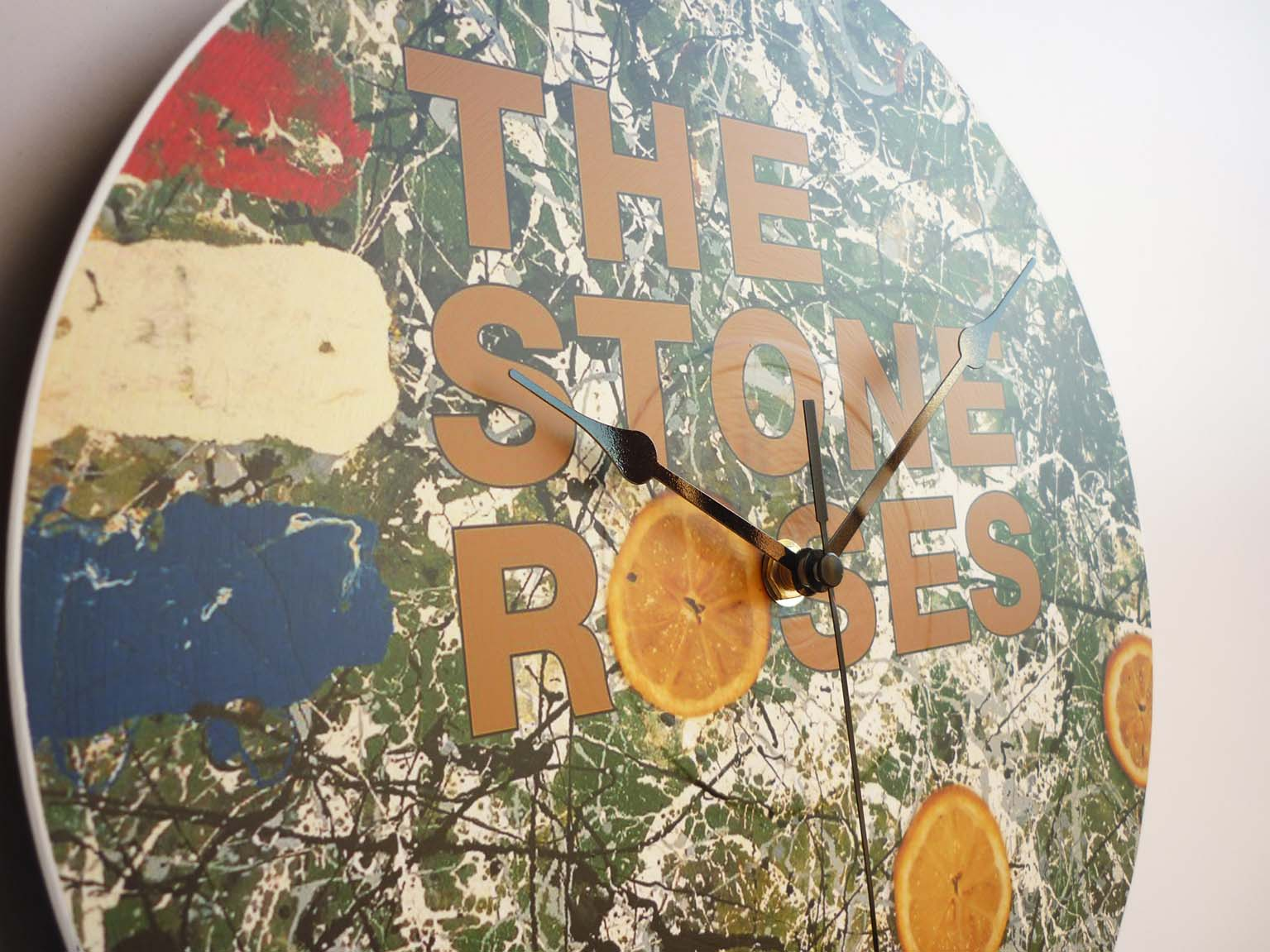 The Stone Roses Collection 12 Vinyl Record Wall Clocks