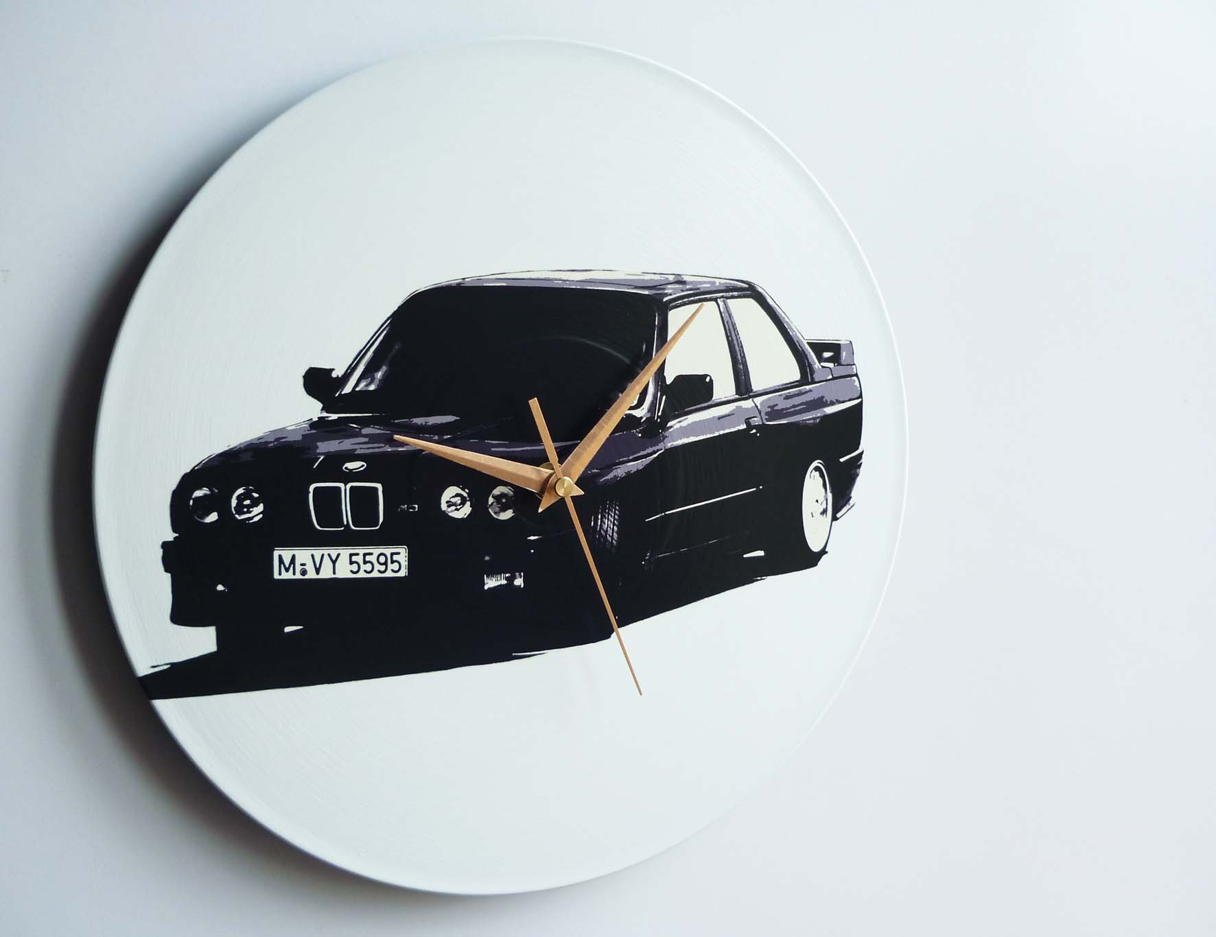 E30 Bmw M3 12 Vinyl Record Wall Clock The Records