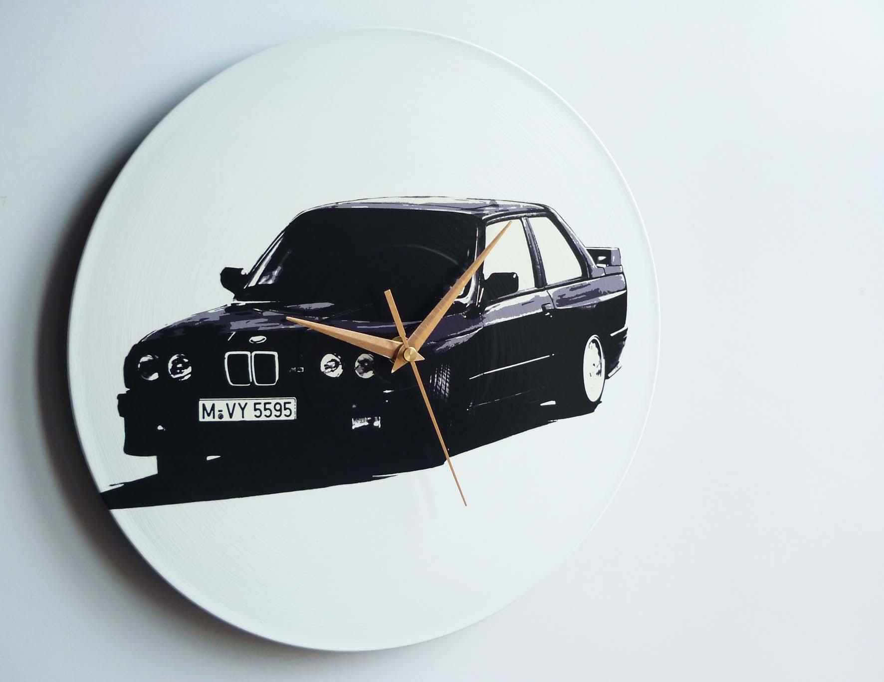 E30 Bmw M3 12 Vinyl Record Wall Clock The Records