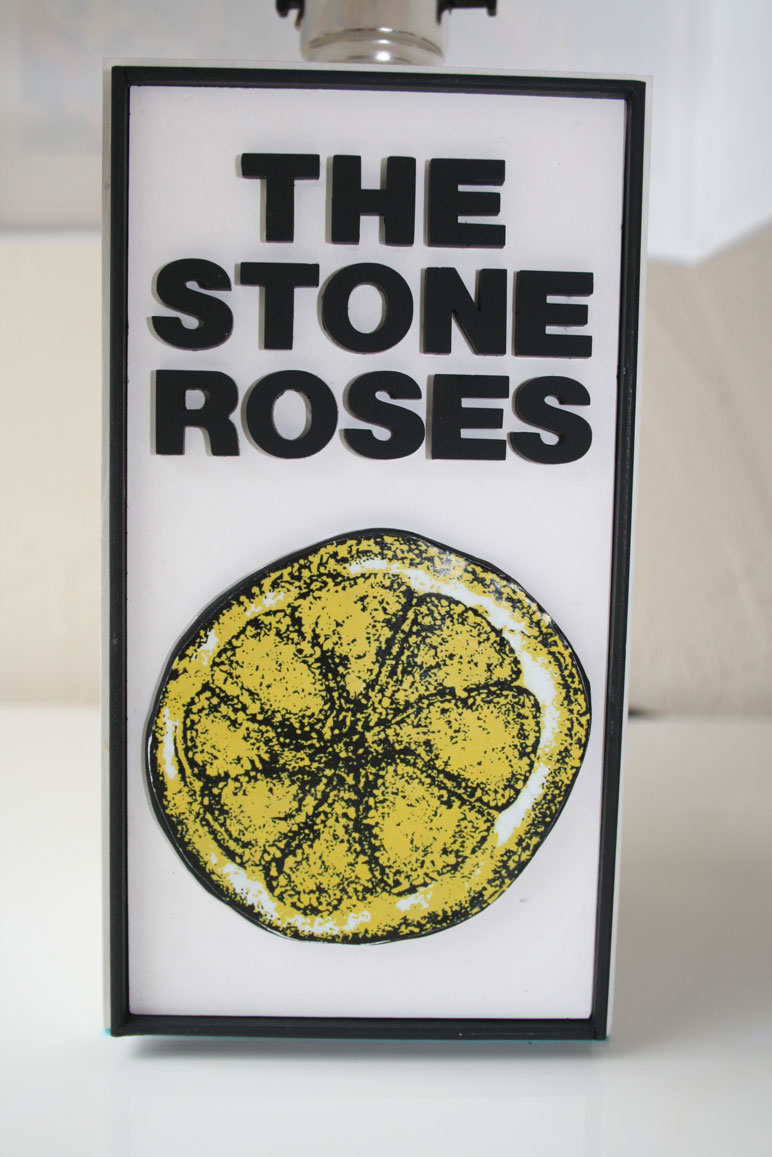 Handmade The Stone Roses Lemon Lamp Album Or Single