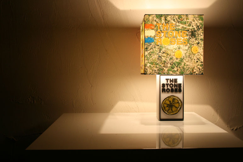 Handmade the stone roses lemon lamp album or single artwork img0300 mozeypictures Image collections