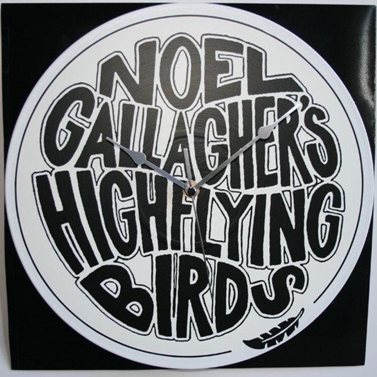 noel gallagher�s high flying birds logo � 12� vinyl record