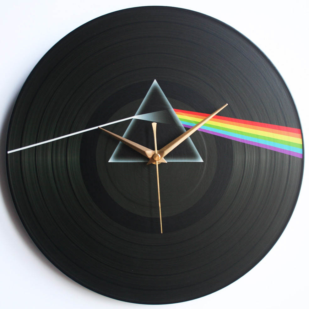 Pink Floyd Collection 12 Lp Vinyl Record Wall Clocks