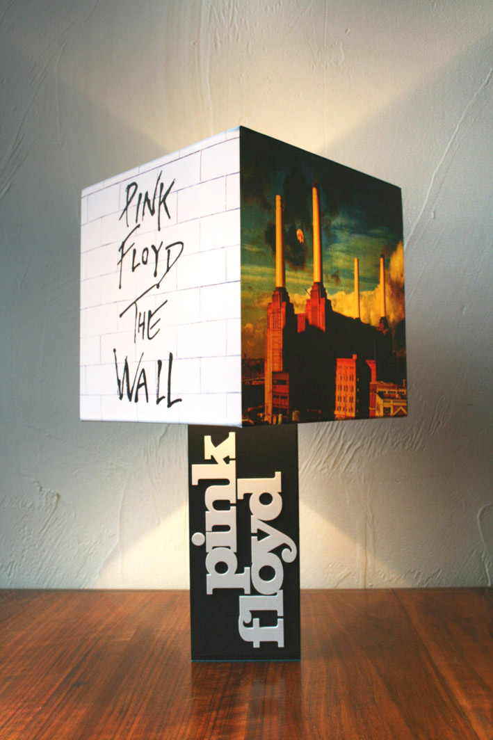 Handmade Pink Floyd Lamp Album Cover Shade The