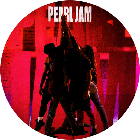 Pearl Jam Ten 1991 12 Vinyl Record Wall Clock The