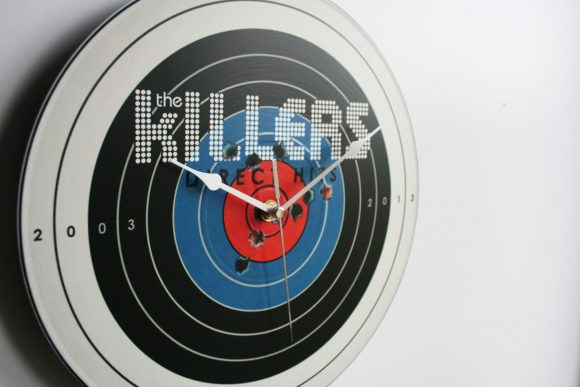 The Killers Direct Hits 2013 12 Vinyl Record Wall