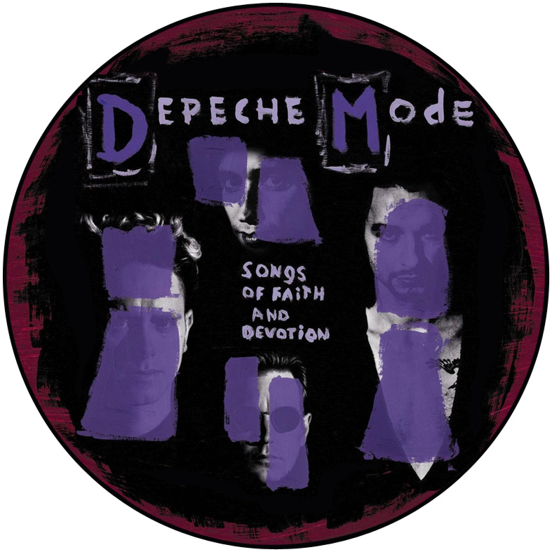 Depeche Mode Collection 12 Vinyl Record Wall Clocks