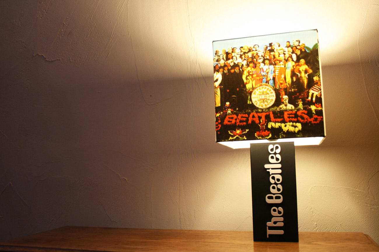 Handmade The Beatles Lamp Album Cover Shade The