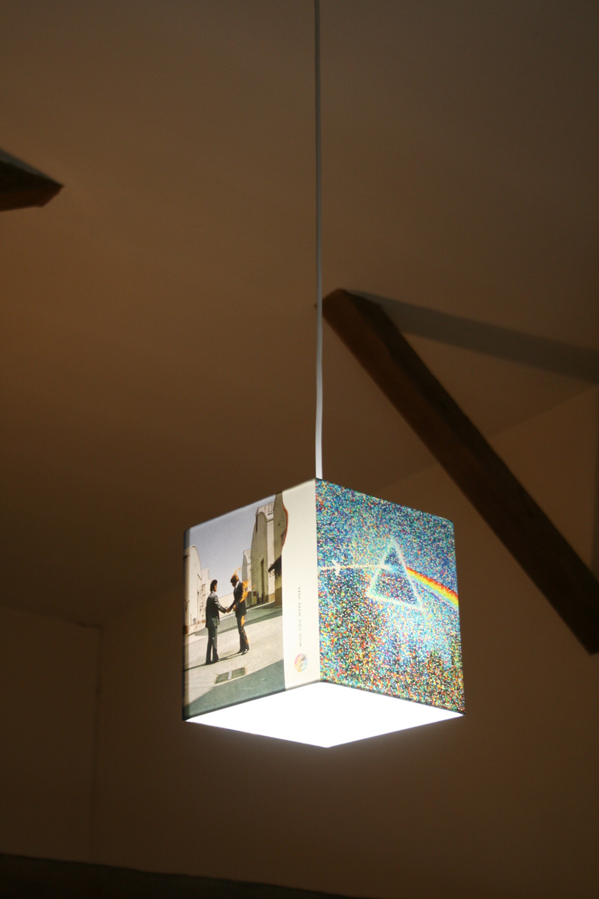 Handmade 'Pink Floyd' Album Cover Ceiling Shade
